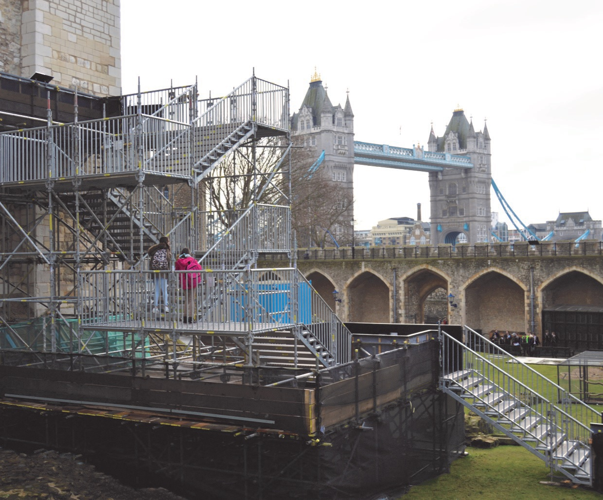 UK System Scaffold Hire sent to the Tower!