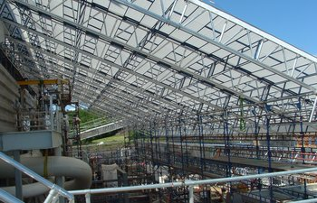 Petrochemical scaffolding