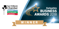 Derbyshire Business Awards Winner 2018