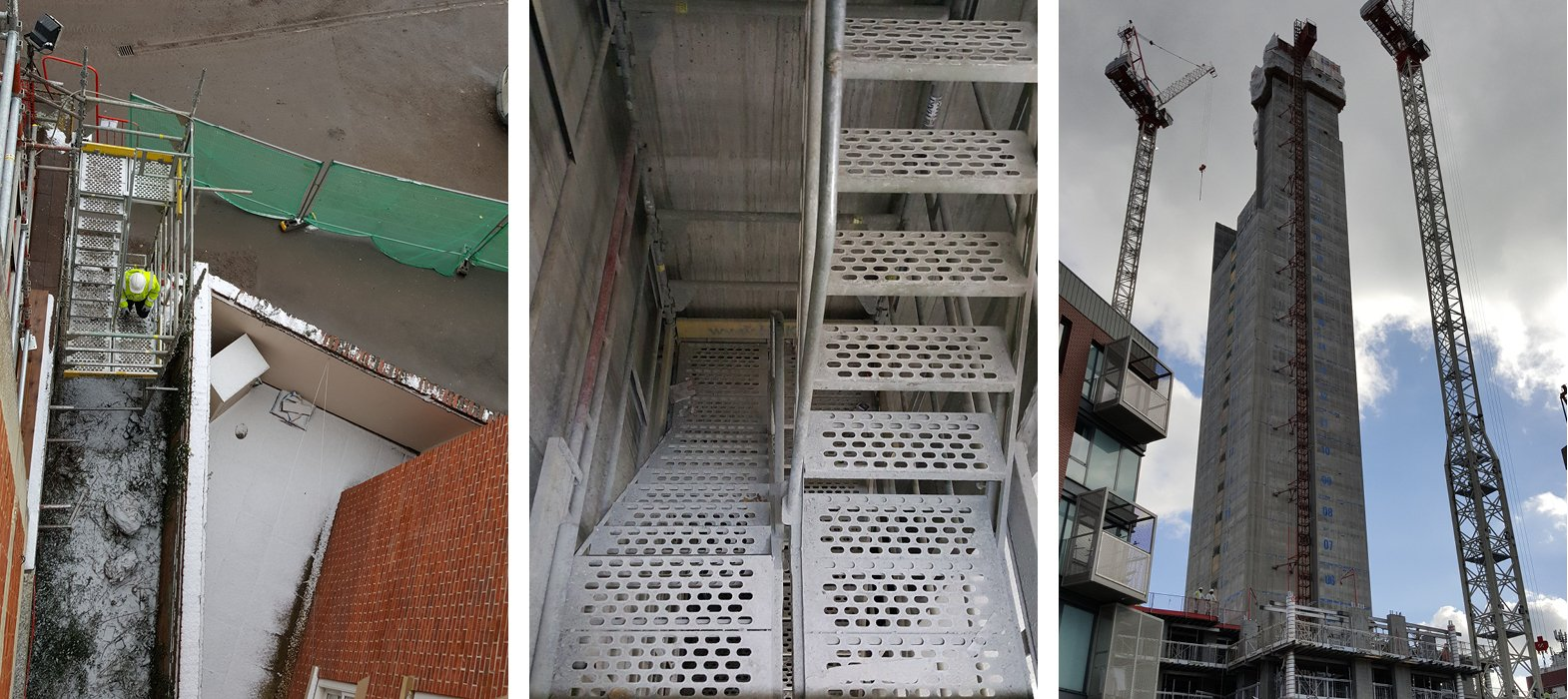 compact stair tower