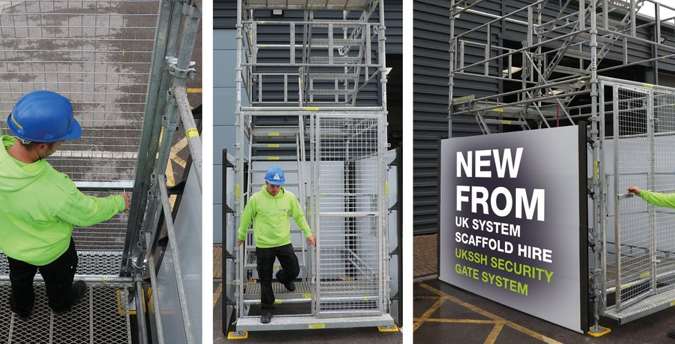 NEW SECURITY GATE SYSTEM FROM UKSSH